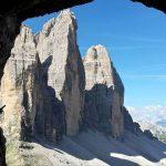 Innerkofler Ferrata De Luca Paterno Panorama 3 Cime di Lavaredo