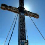 Italian Ferrata Mangart 10 cross summit