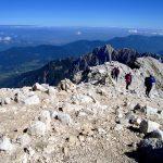 Italian Ferrata Mangart 15 mangart ridge