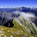 Italian Ferrata Mangart 16 mangart ridge