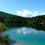 Italian Ferrata Mangart 22 lower lake fusine