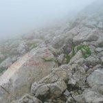 Ferrata Italiana Mangart 30 indicazioni attacco ferrata