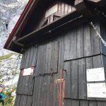 Italian Ferrata Mangart 5 shelter nogara