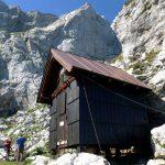 Italian Ferrata Mangart 6 nogara shelter