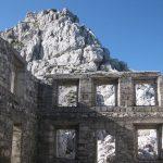 Ferrata Julia Canin 1 barracks ruins