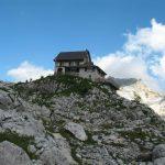 Ferrata Julia Canin 31 hut