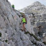 Ferrata Julia Canin 9 back ledge