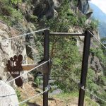 Knott Ferrata Suspension bridge 2