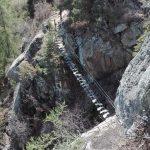 Ferrata Knott Ponte sospeso dall alto