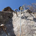 Knott via ferrata brackets 2