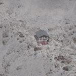 Ferrata Lipella Tofana Rozes Rifugio Giussani dalla cima