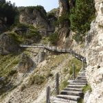 Ferrata Maximilian wooden walkways
