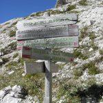 Ferrata Menighel Bivio Ferrata Grotta tofana