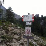 Ferrata Merlone path 117