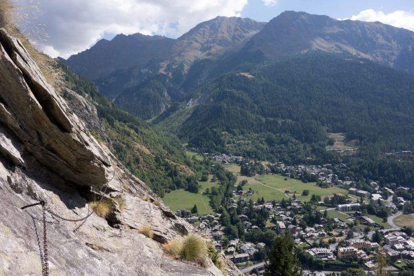 Ferrata Mont Chetif 3