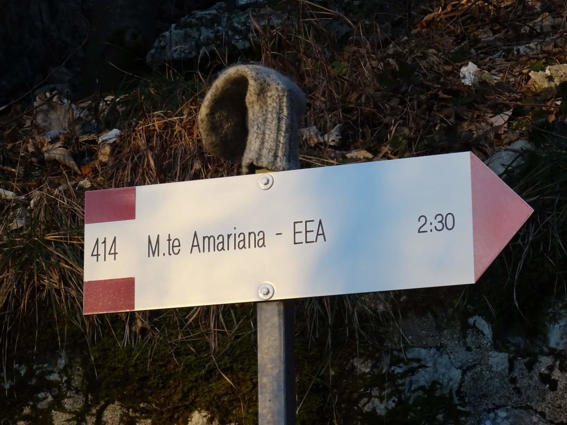 Ferrata Monte Amariana 1