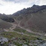 Ferrata Monte Emilius 17 approaching