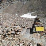 Ferrata Monte Emilius 19 descent