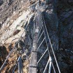 Ferrata Monte Emilius 22 bridge