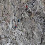 Ferrata Monte Nero Presanella 14 tratto attrezzato prima del bivacco