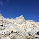 Ferrata Monte Nero Presanella 7 verso vedretta monte nero
