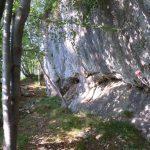 Ferrata Monte Ocone 1 approach