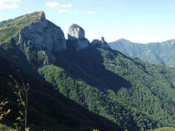 Ferrata Monte Procinto from Monte Forato