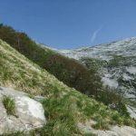 Monte Sumbra 2 via ferrata approach