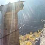 Ferrata Nito Staich 9 bridge
