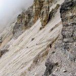 Ferrata Olivieri Path descent to Giussani