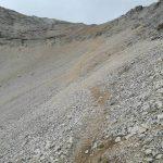 Ferrata Ombretta path