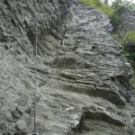 Ferrata Ovest Ultimo Sole 3 diedro