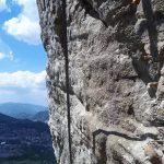 West Ferrata Last Sun Vertical Wall