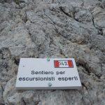 Ferrata Passo Santner 19 Descent to Rifugio Vajolet