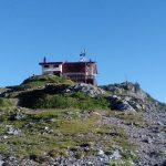 Ferrata Passo della Porta 4 Albanian hut