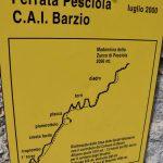Ferrata Pesciola 4 cartello