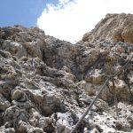 Ferrata Piazzetta rocks