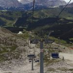 Ferrata Piz Lech chairlift vallon