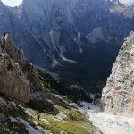 Ferrata Ponza Grande 22 descent