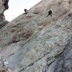 Ferrata Punta Penia Marmolada Prima di Sforcela Marmolada