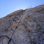 Ferrata Punta Penia Marmolada Staffe