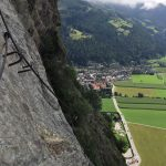 Pursteinwand via ferrata 2