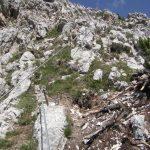 Ferrata Ra Bujela 24 rocks