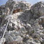 Ferrata Ra Bujela 29 rocky leap