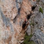 Ferrata Ra Gusela Nuvolau 2 Start