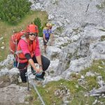 Ferrata Ra Pegna 8 descent