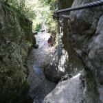 Rio Sallagoni Ferrata Castel Drena 12
