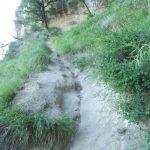 Ferrata Rocca Badolo 1 18 avvicinamento