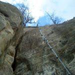 Ferrata Rocca Badolo 1 3 placca