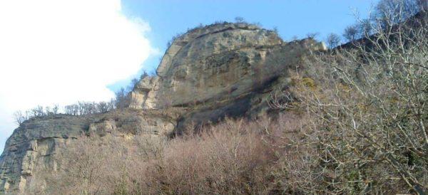 Ferrata Rocca Badolo 1 pliocenico